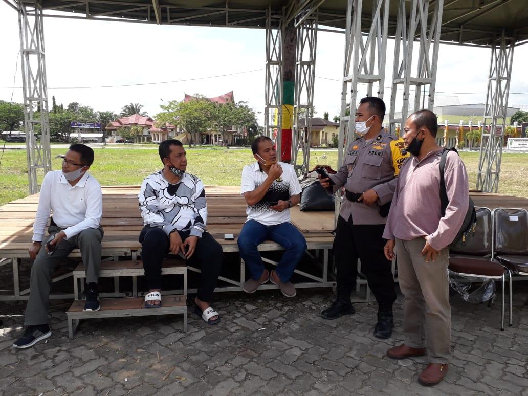 Jelang Bakar Jagung, Kapolresta Tinjau Lokasi MTQ Pekanbaru