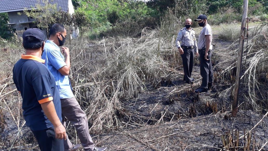 Kebakaran Lahan Dan Hutan Terjadi di Jalan Teuku Beny Ujung