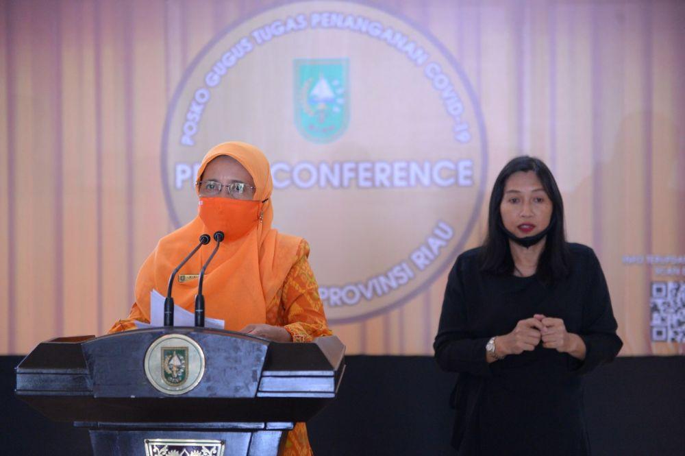 Kabar Baik, 17 Pasien Covid-19 di Riau Sembuh