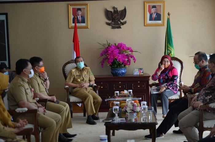 Wakil Ketua KPK RI Apresiasi Capaian Pemprov Riau Tangani Covid-19