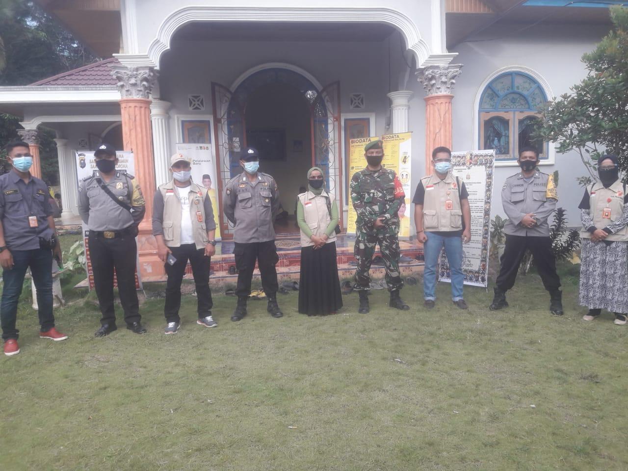 Polsek Bunut Lakukan Pengamanan Kampanye Dialogis Paslon No Urut 4