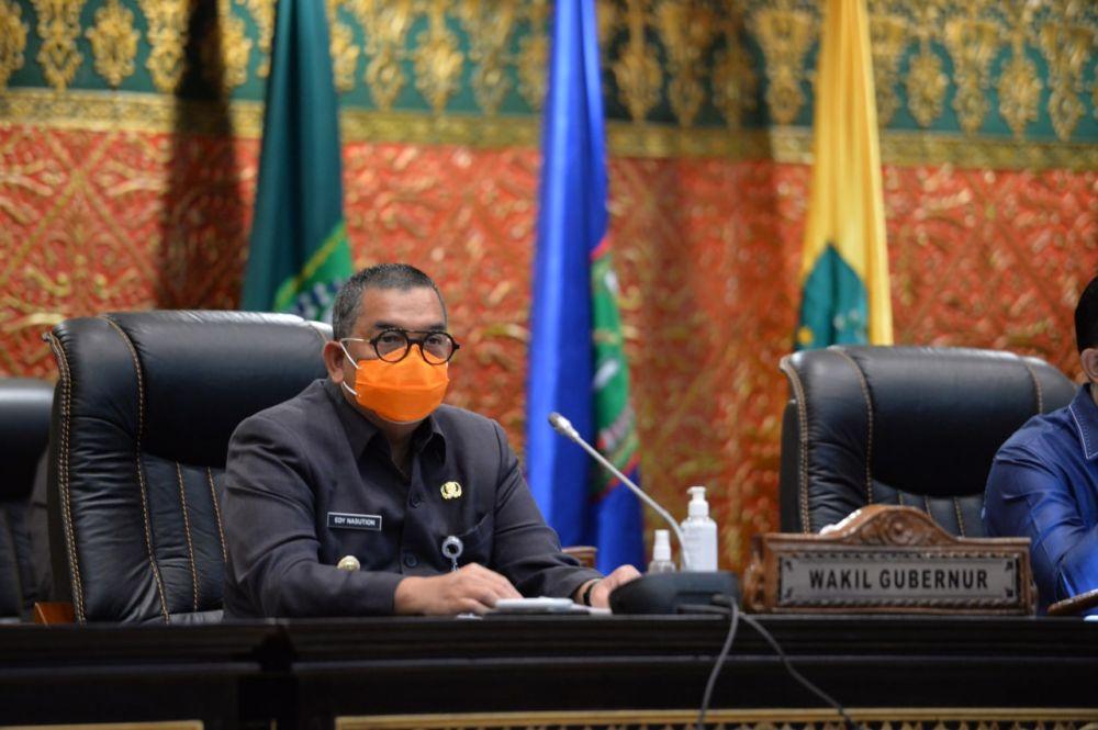 Hadiri Pansus LKPJ, Wagubri Nyatakan Siap Perhatikan Rekomendasi Dewan